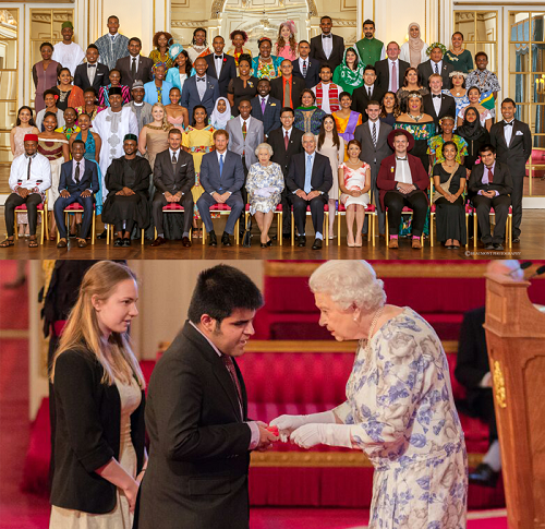 Kartik Sawhney is Awarded with Prestigious Queen's Young Leaders Award.