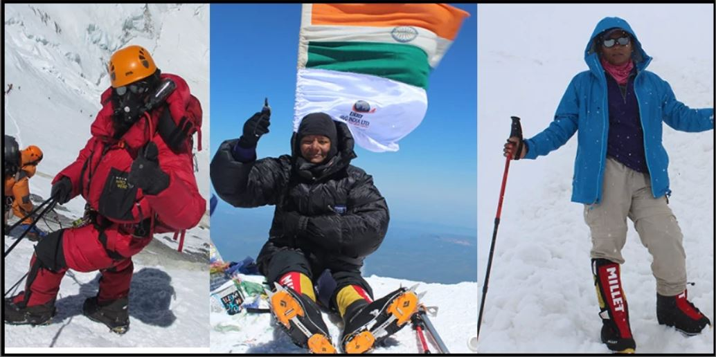 Arunima has already climbed more than six peaks since then, which include Kilimanjaro, Aconcagua, Kosciuszko and Elbrus to name a few. She aims to cover all the highest peaks in all the continents.