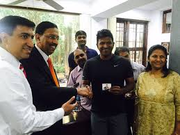 Dr.Ramana Rao With Puneet Rajkumar and the Royals of Mysuru.