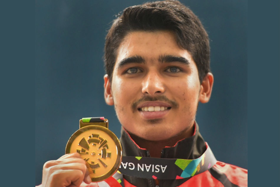 Saurabh Chaudhary won the gold in air pistol Asian Games 2018.