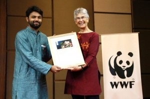 Rohan Chakravarty won WWF International President's Award