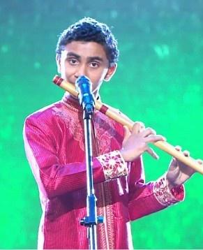 Teen Flutist Suleman