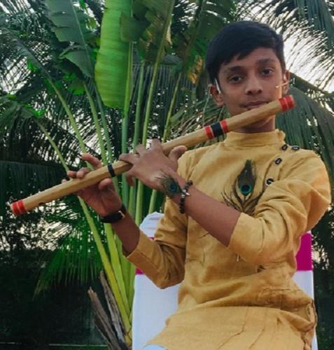 Teen Flutist Om.K.Patel