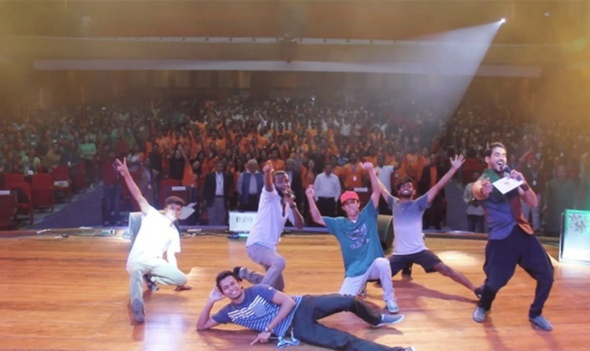 2,000 plus participants gathered at the largest beatbox show in the world
