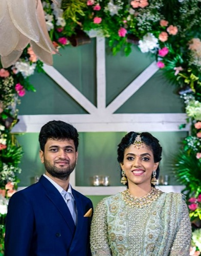 Harika Donavalli Married to Karteek Chandra