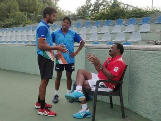 coach Chandra Bhushan and Sekhar's Balaji Ramaswamy
