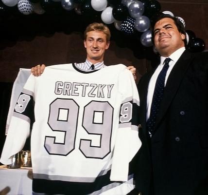Why did Wayne Douglas Gretzky  pick 99