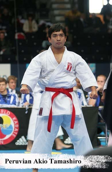 Peruvian Akio Tamashiro