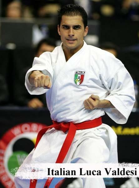 Italian Luca Valdesi