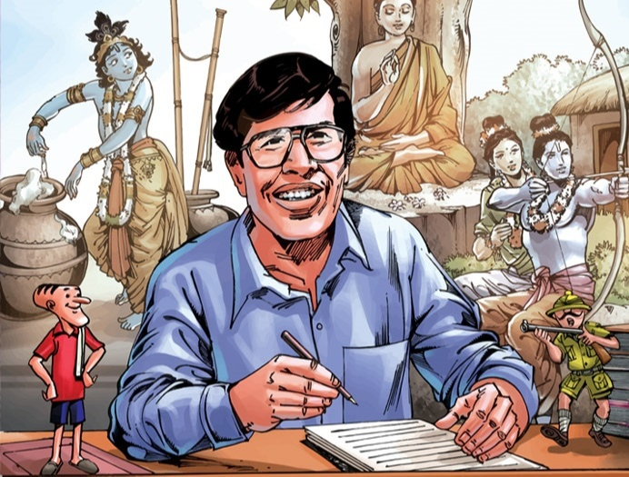 Mr. Ananth Pai -The Amar Chitra Katha