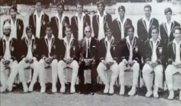 Mollera Poovaiah Ganesh switched to Hockey and made his debut in 1970 representing the country and proudly wearing the Indian Jersey