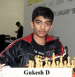 Gukesh D World Youngest Grandmaster