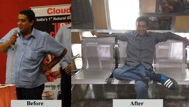 raja subramaniam before and after weight loss
