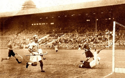 Balbir Singh scored 2 goals against Britain in the final 1948 Olympics