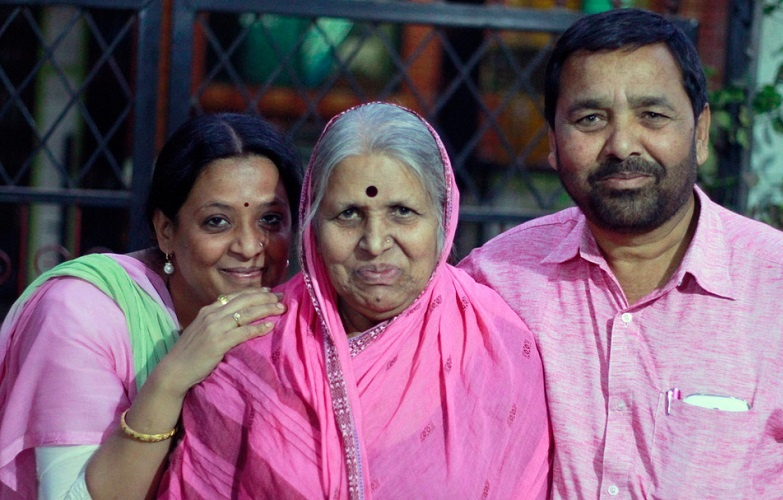 sindhutai sapkal Family