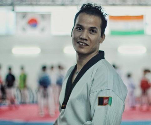 World Champion Sayed Hassan Rezay