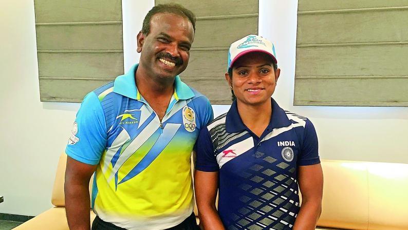 Ramesh Dutee's coach
