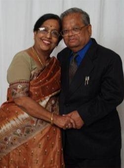 A PMitra and his wife sunanda mitra.