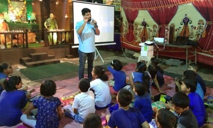 Onil kulkarni Through Swadhishthan bringing about a positive social change