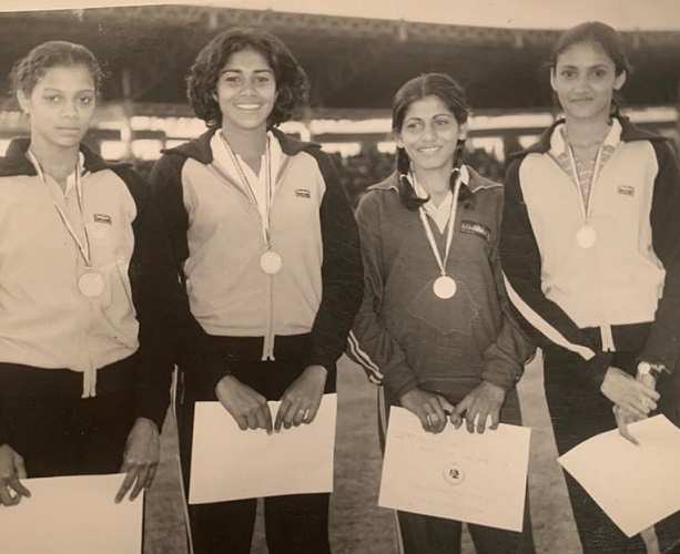 Track and Field team for the 1983 Asian Games