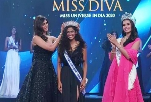 Aavriti finally has been chosen to lead Diva Supranational 2020 by current reigning champion Shefali Sood then sashed by 2019
