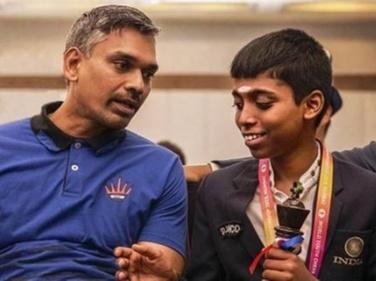 Rameshbabu Praggnanandhaa Coach -Ramachandran Ramesh