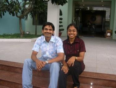 Grandmaster Aarthie Ramaswamy and Ramachandran Ramesh