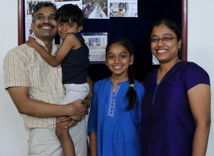 Ramachandran Ramesh family