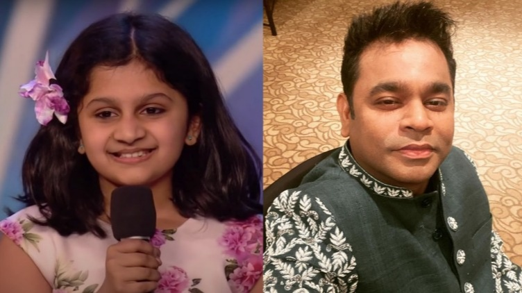Soiparnika nair golden voice mesmerizes A.R Rahman as well
