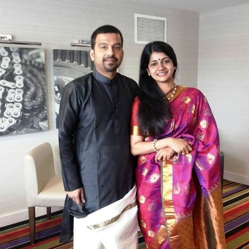 Souparnika Nairs Parents Dr. Binu and Ranjitha