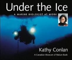 Kathy reveals her polar experiences in the fantasy book, Under the Ice