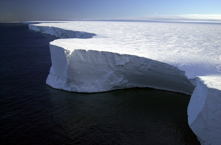 Kathleen Explores the gauging impact of B-15 A massive iceberg