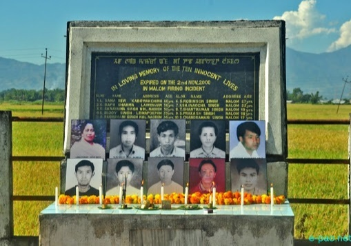 Malom massacre incident