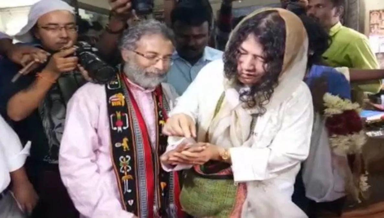 Irom Sharmila marries Desmond Coutinha