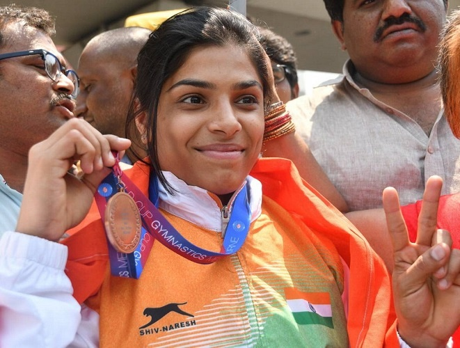 The Karate Girl turned into a World Class Gymnast Makes India Proud