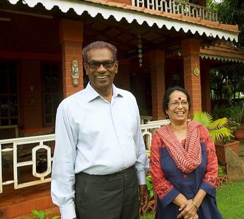 Gita Gopinath's Father T.V. Gopinath and Mother V.C. Vijayalakshmi