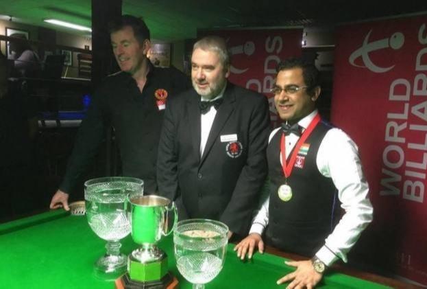 Sourav Kothari World Billiards Champion crown