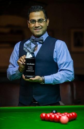 """Sourav Kothari sealed the crown  """"Reventon Classic snooker"""""""