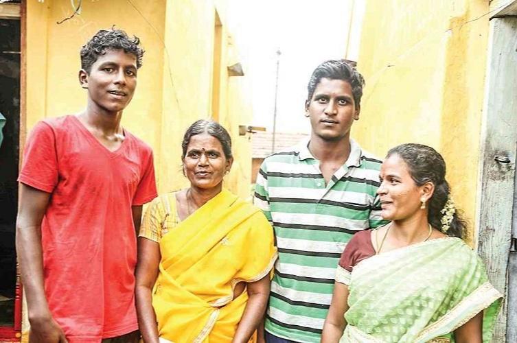Mariyappan Thangavelu Family
