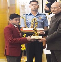 Mariyappan Granted Arjuna Award