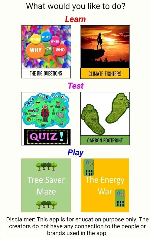 Earth in Dearth App