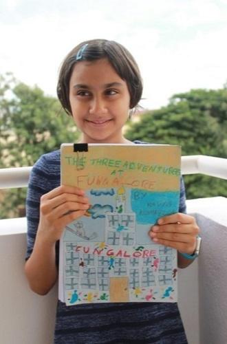 Kavya Kompella Youngest Author