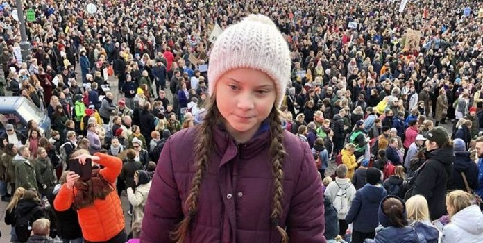 Greta Tintin movement created history, with a record of more than 3.5 million protesters demonstrating across the world