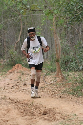 He trekked through the Western Ghats for about 14 times