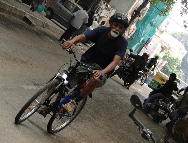A Railway Employee Who Embraced Bicycle