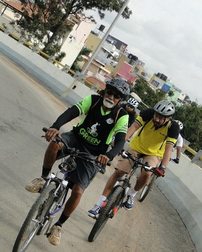 Cycling Journey - Ups and Downs