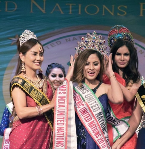 Beauty for a purpose and a balanced life- Mrs. United Nations World 2019