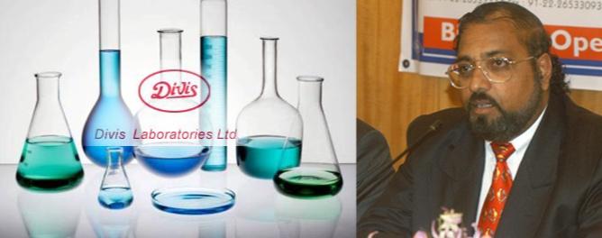 Dr Murali K. Divi, the proprietor of Divi Laboratories