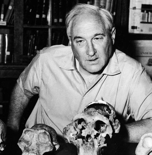 Anthropologist Louis Leakey
