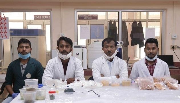 Dr Sandeep and his team